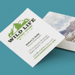 2. Visitekaartjes eigen ontwerp